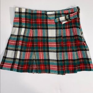 🌸5/$20🌸 Red and green plaid skirt